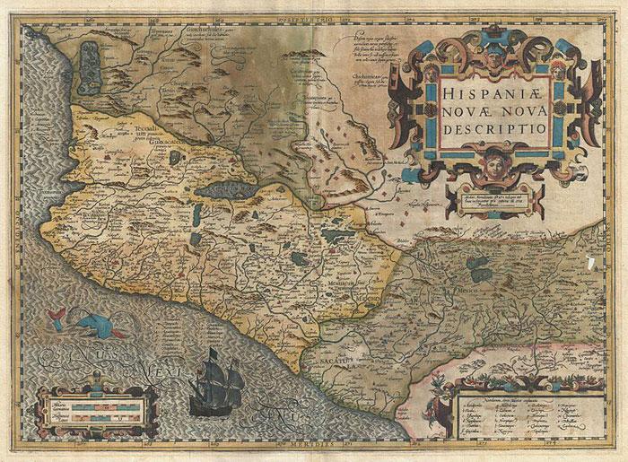 Una preciosa compilacin de mapas antiguos de Mxico  Ms de Mxico