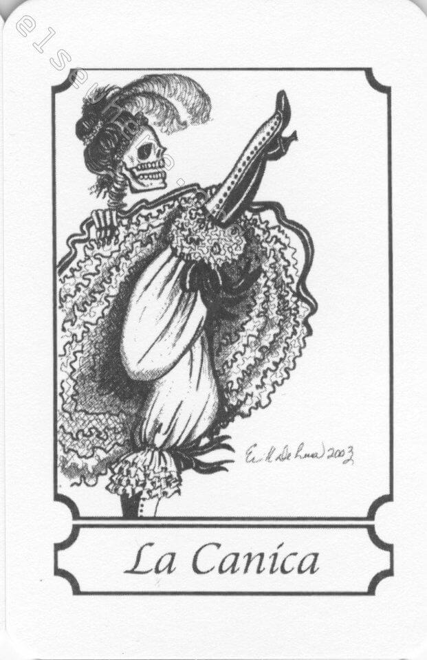 nombres mexicanos para la muerte