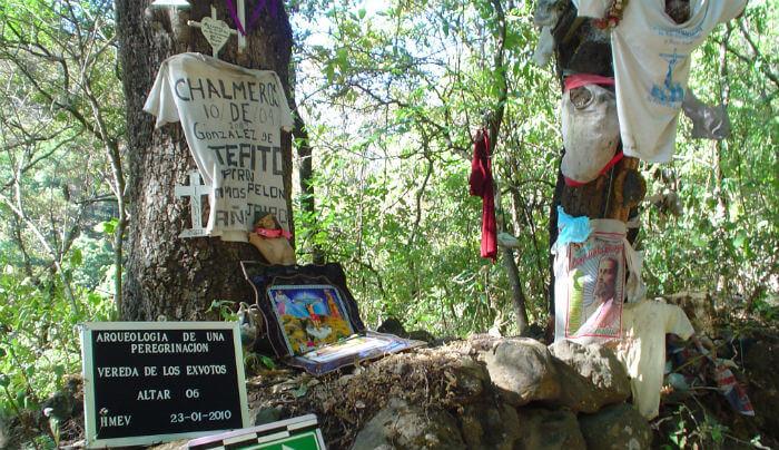 peregrinacion chalma lugares sagrados mexico