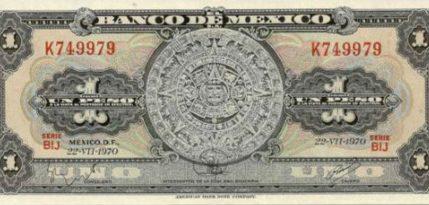 billetes historia de mexico