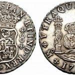 Columnarios, la moneda de la Nueva España.