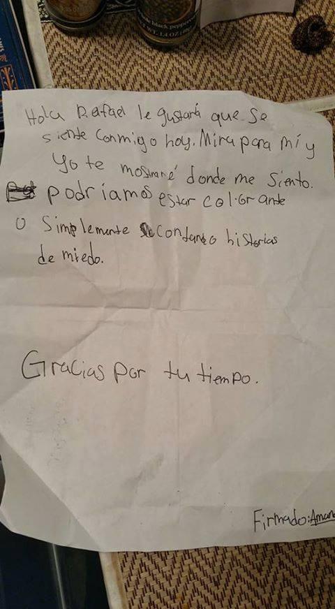 carta nina estadounidense a nino mexicano