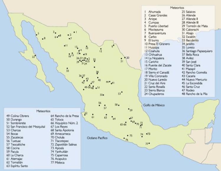 mapa-de-meteoritos-en-mexico