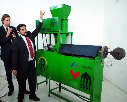 maquina recicladora unicel mexicanos