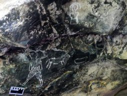 pinturas rupestres guerrero indigenas espanoles