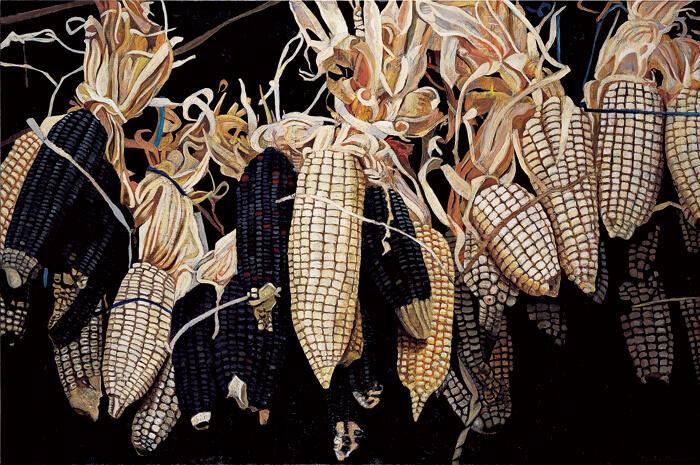 maiz pintura pedro diego alvarado