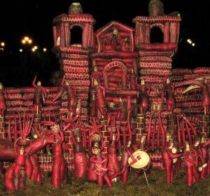 noche de rabanos oaxaca celebracion navidad