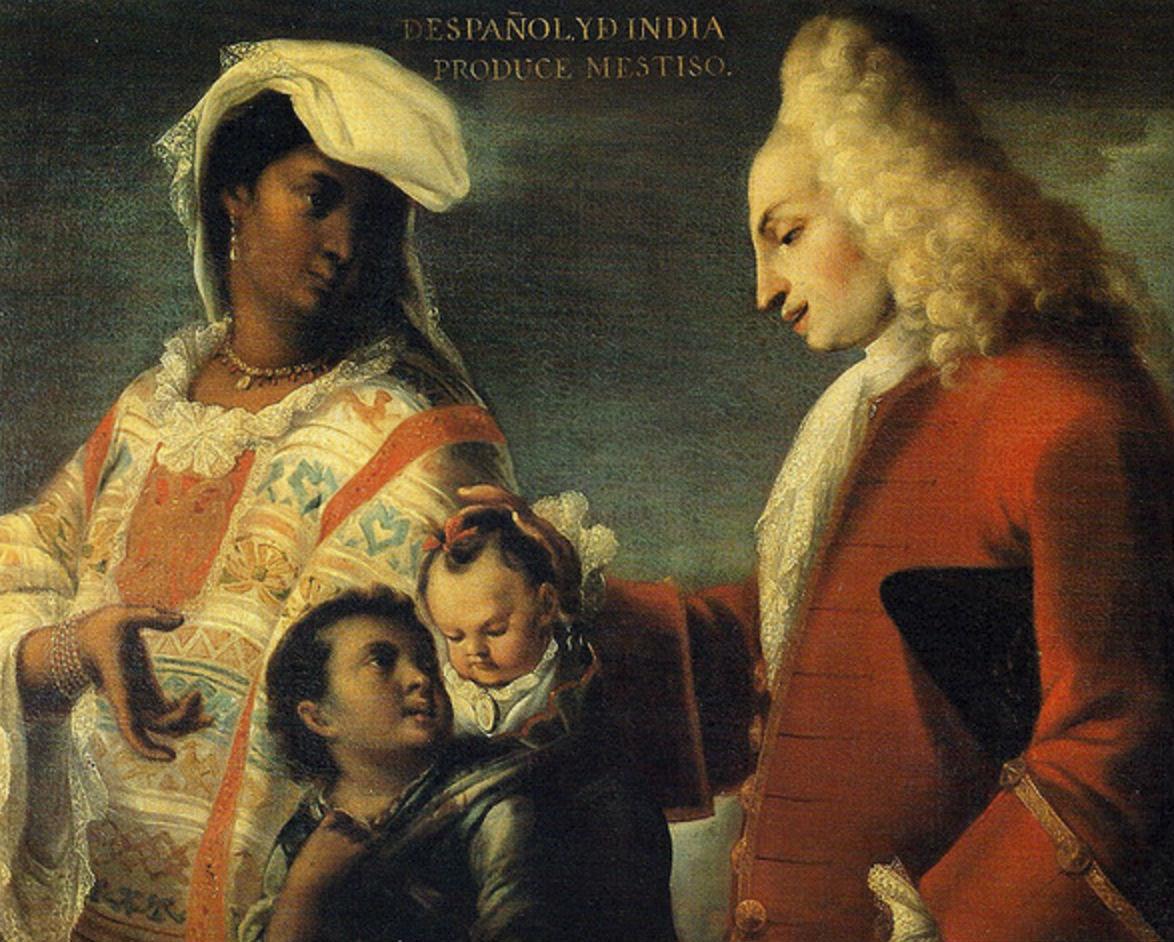 Los Mestizos En La Nueva España