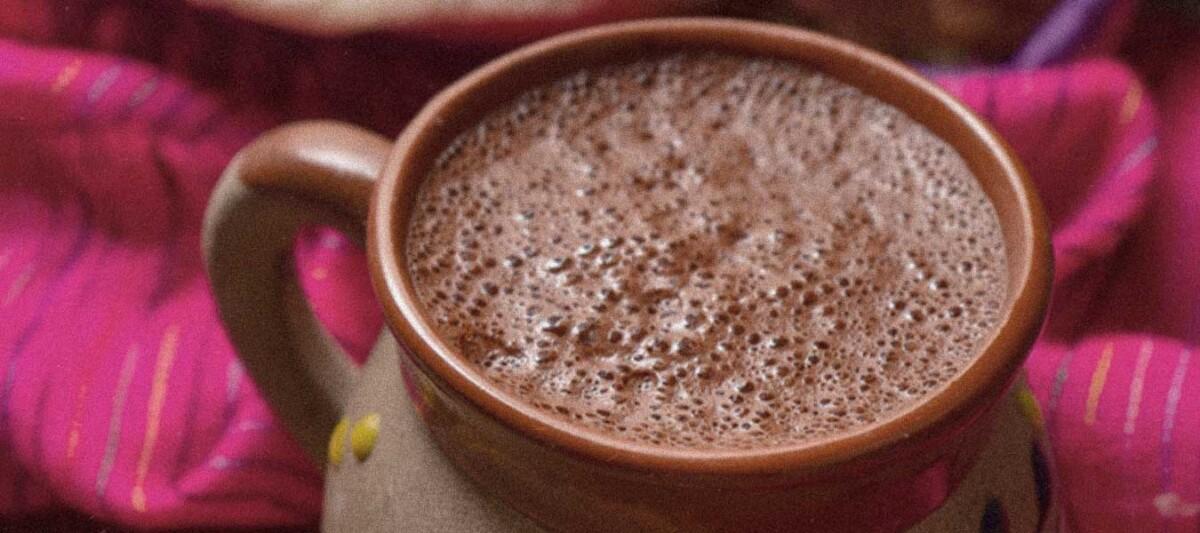 Chocolate bebida, receta prehispanica, propiedades del chocolate