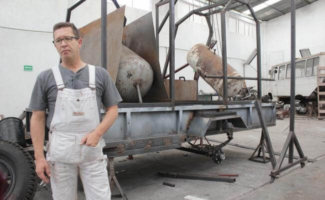 Gerardo Nugaray Benitez el guero bombas creacion refineria combustibles basura