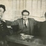 David Alfaro Siqueiros, José Clemente Orozco, y Diego Rivera, que enarbolaron el movimiento muralista, un parteaguas en la identidad nacional.