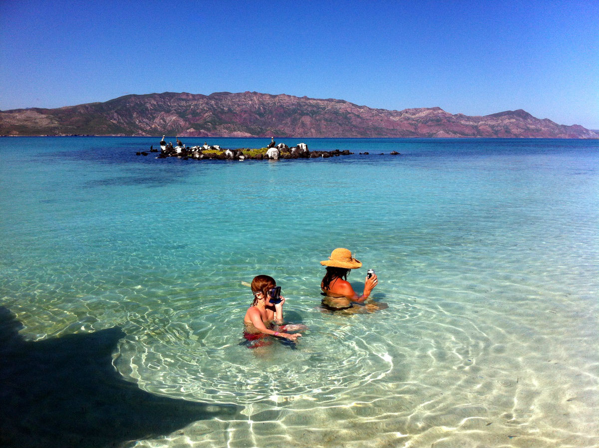isla coronado loreto baja california playas nudistas mexico