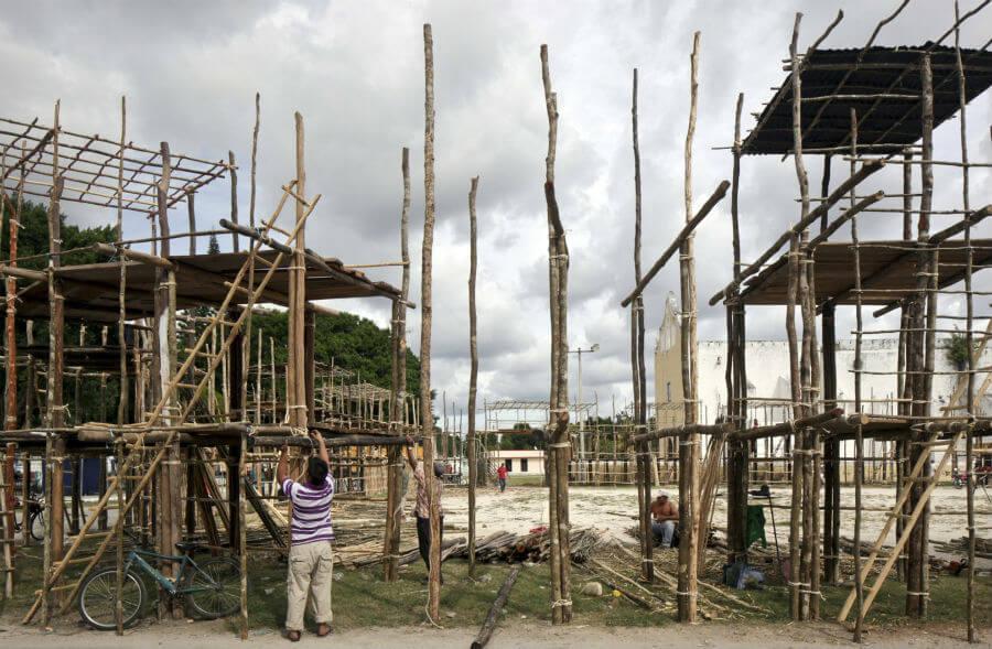 pabellon mexico muestra arquitectura bienal de benecia 2016 despliegues y ensambles