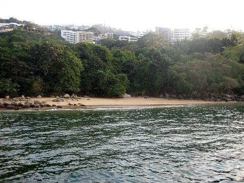 playa secreto acapulco guerrero playas nudistas mexico