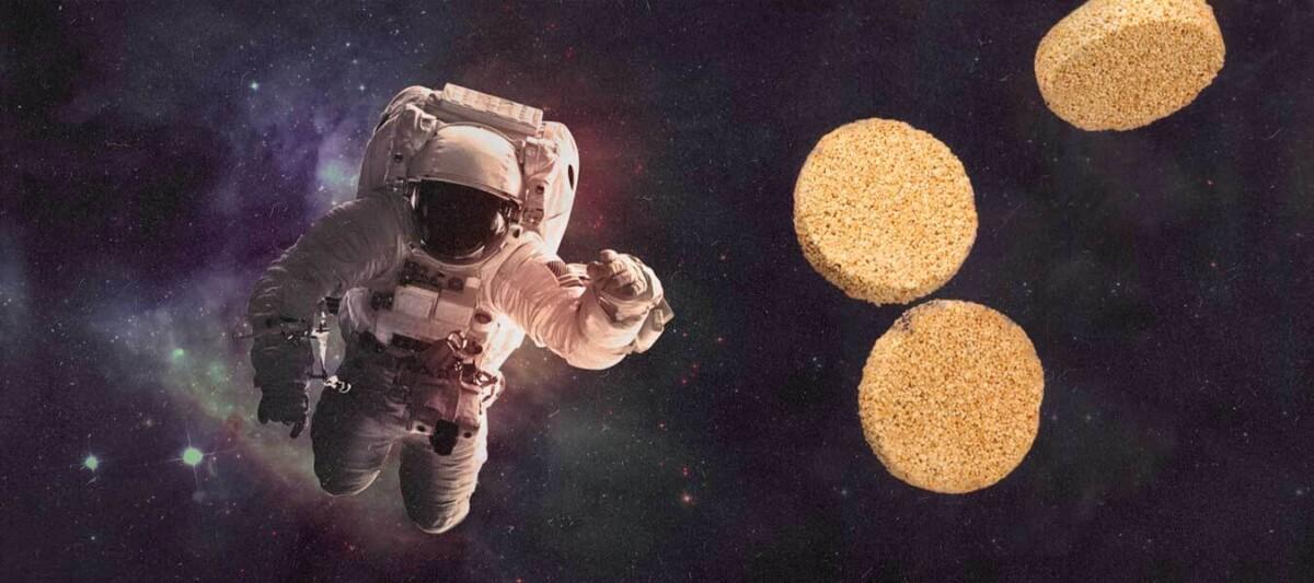 amaranto, astronautas, comida mexicana