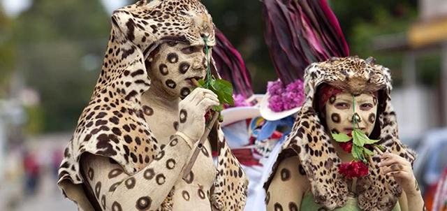 carnaval de tenosique mas raro del mundo