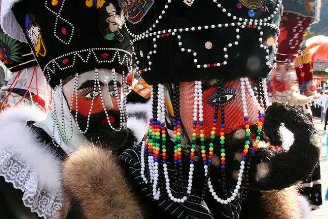 carnaval tepoztlan morelos chinelos