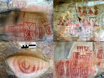 donde ver pinturas rupestres mexico