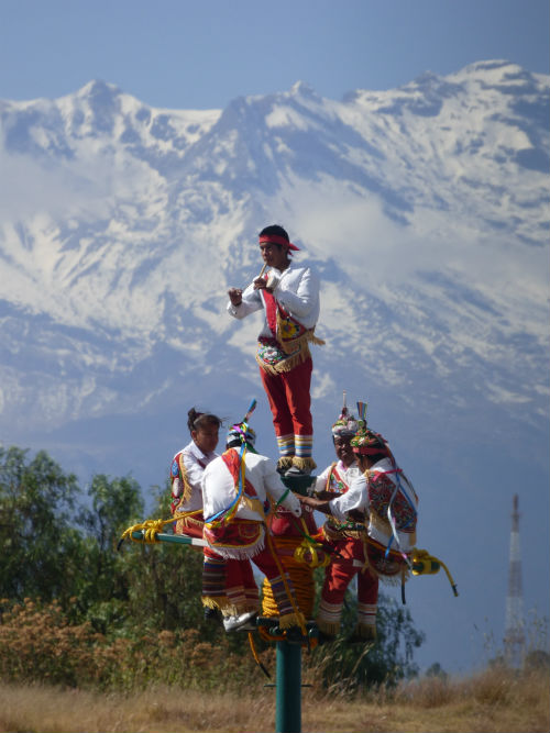 voladores de papantla significado ritual 2