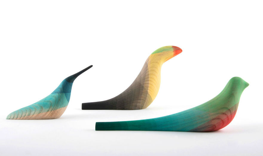 aves madera diseno moises hernandez