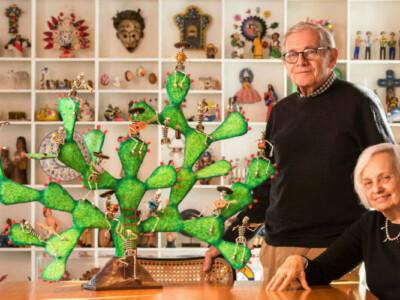donan coleccion arte mexicano Alan Goldberg y Gertrude Schaffner Goldberg museo san francisco