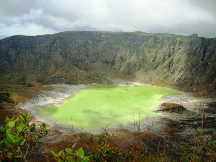 volcan chichonal chiapas crater