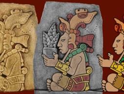 Niño encuentra en Chiapas monolito de Yum Kaax, el dios maya del maíz