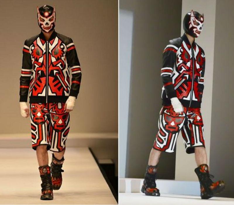 Yukihiro Teshima  moda lucha libre influencia