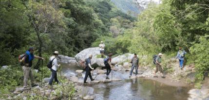 camino copalita caminata sierra oaxaca