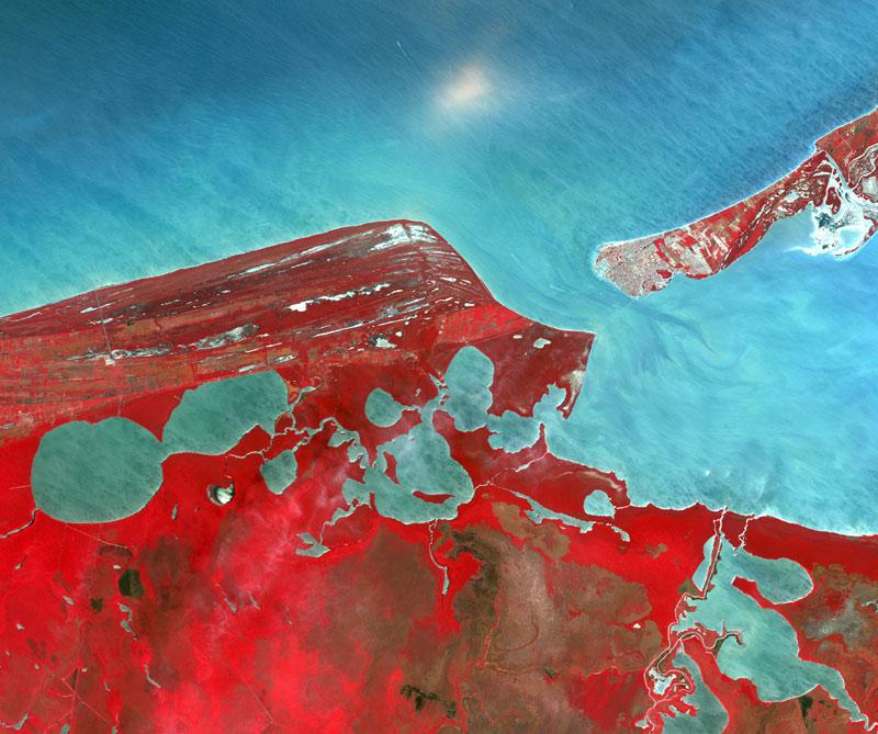 campeche-mexico-foto-desde-espacio
