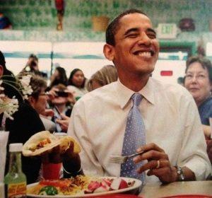 famosos amantes comida mexicana