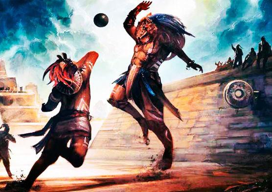 juego de la pelota prehispanico