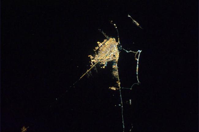 mexico desde el espacio cancun