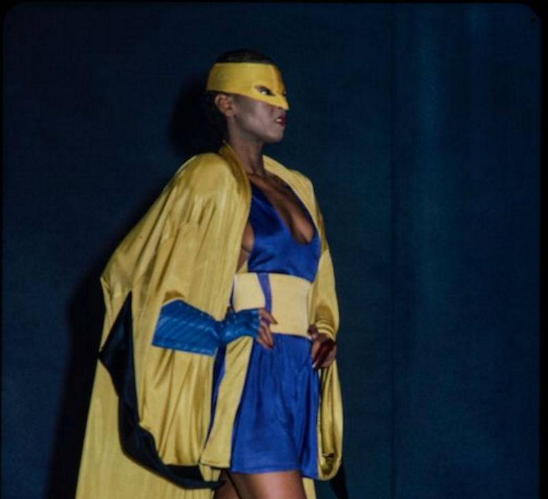 moda inspirada lucha libre Manfred Thierry Mugler