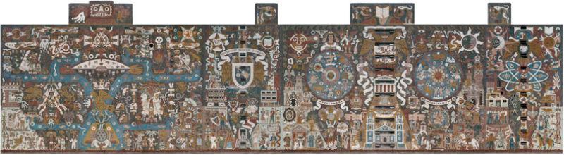 murales mas grandes del mundo biblioteca central unam