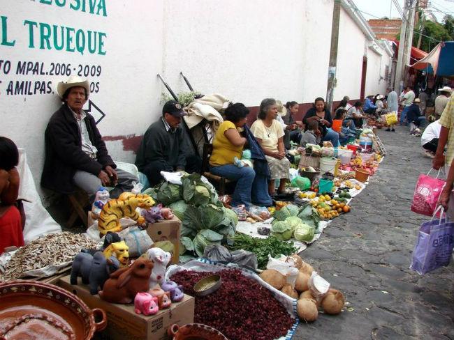 tianguis prehispanicos actuales mexico zacualpan de amilpas morelos