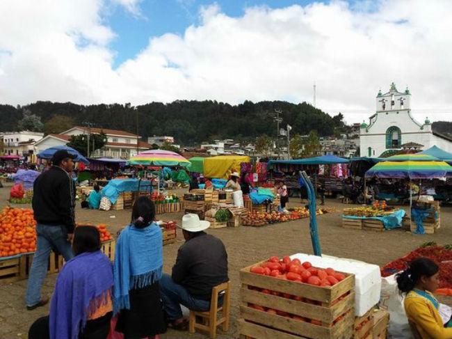 tianguis preshispanicos mexico actuales san juan chamula