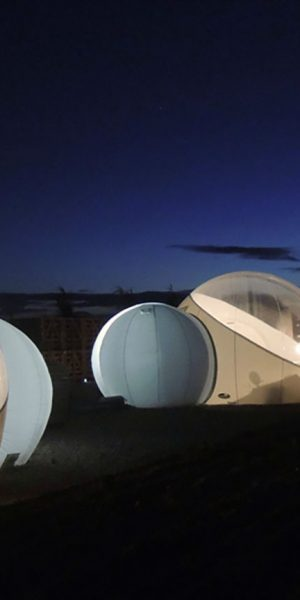 hotel burbuja estrellas valle de guadalupe