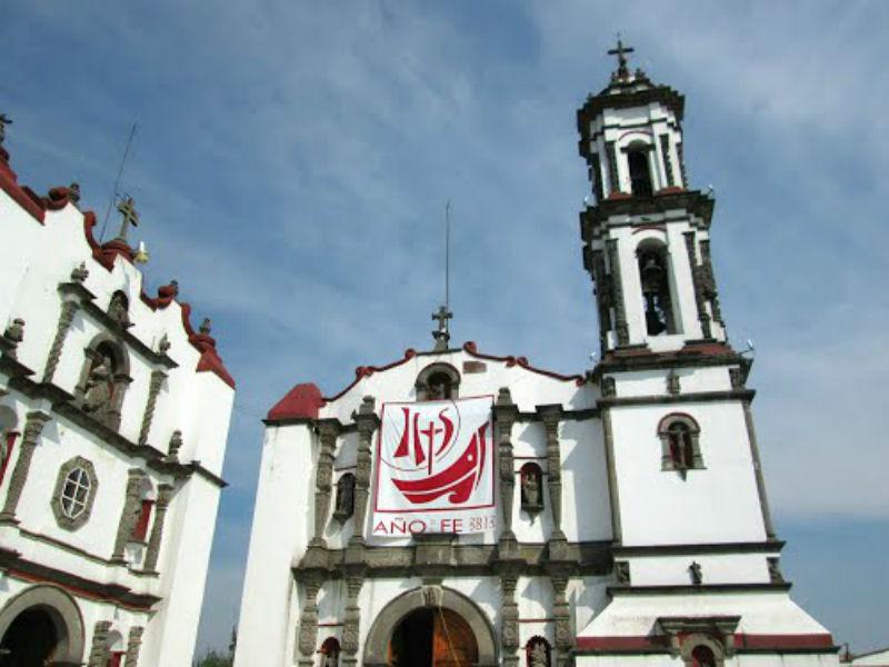 iglesias construidas sobre templos prehispanicos ciudad de mexico