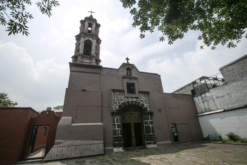 iglesias construidas templos prehispanicos ciudad de mexico