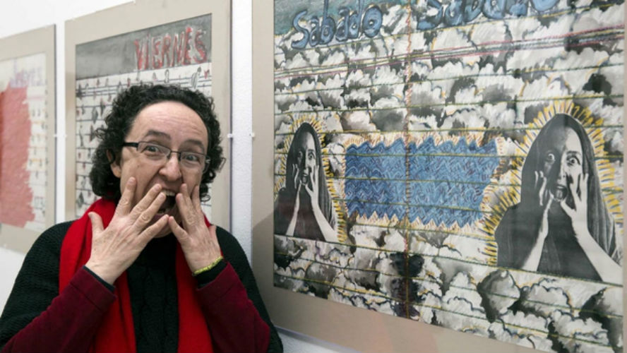 monica mayer editaton wikipedia mujeres artistas mexicanas
