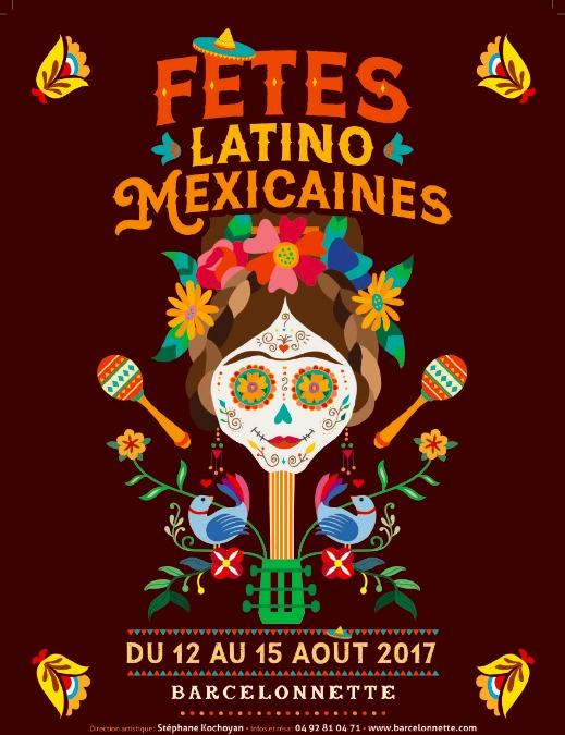 Fetes Latino- Mexicaines bercelonnette mexico ciudad mexicanizada de Francia