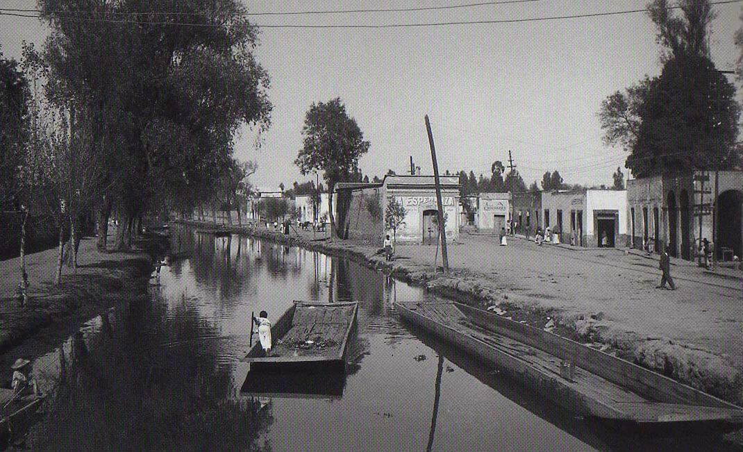 antiguos canales ciudad de mexico