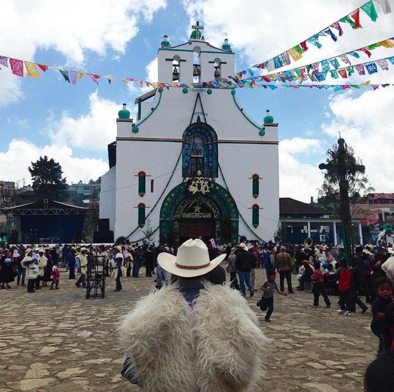 calles de mexico adornos adornadas fiestas