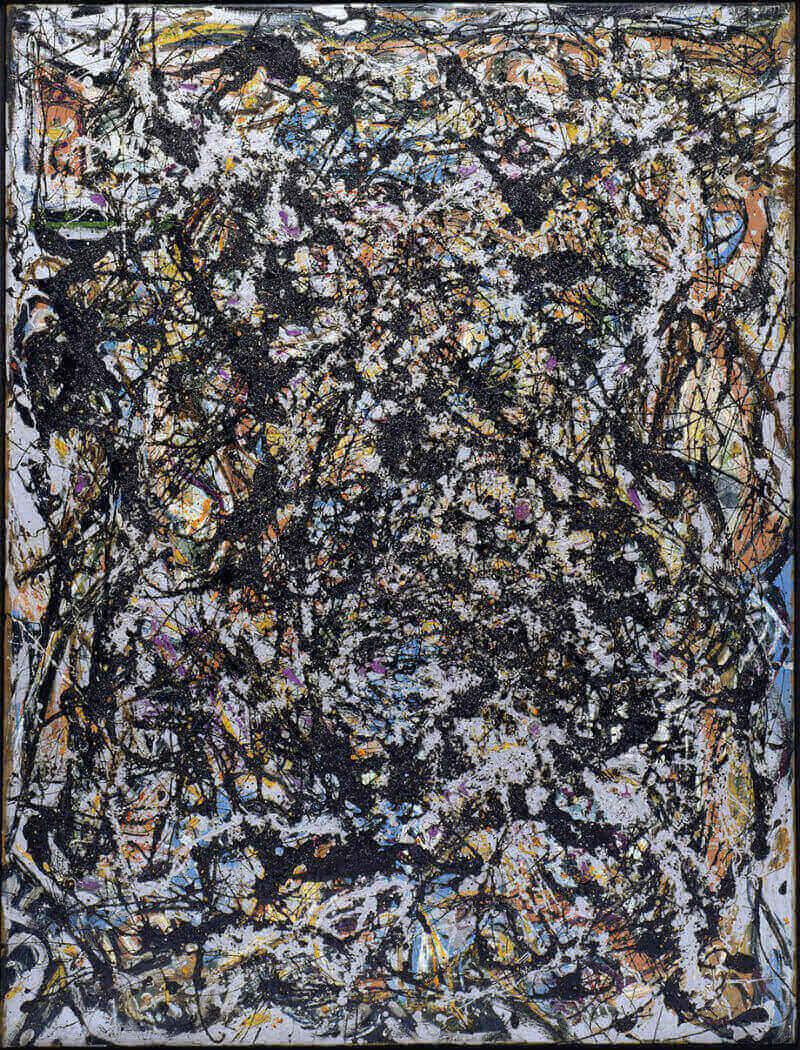 jackson pollock influencia siquieiros pintura