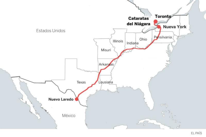 mexicanos recorreran norteamerica bici anti trump