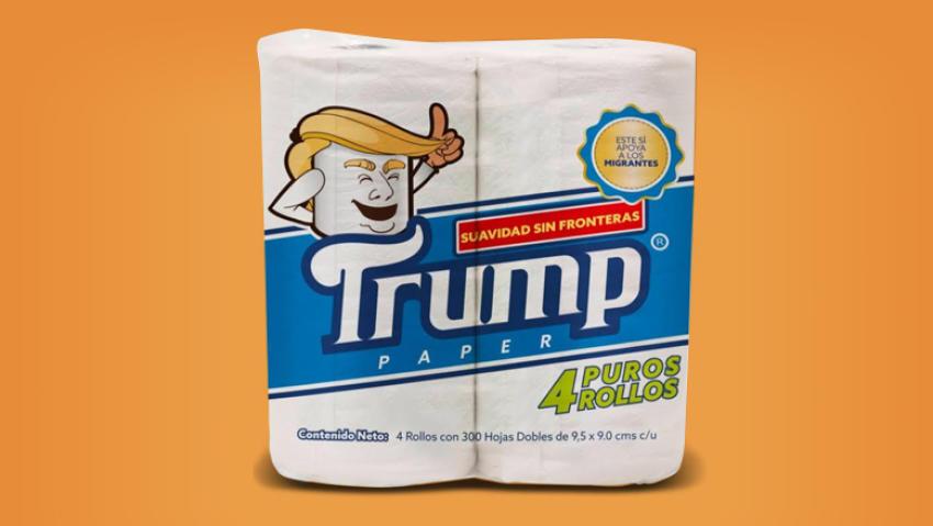 papel-higienico-papel del bano higienico trump