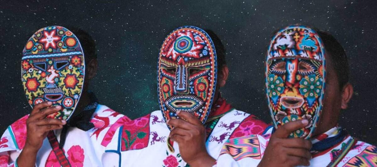 mascaras, arte huichol, cultura mexicana