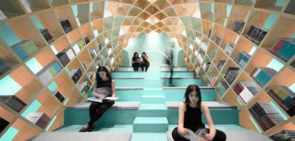 La Biblioteca Conarte mas hermosas del mundo mexico