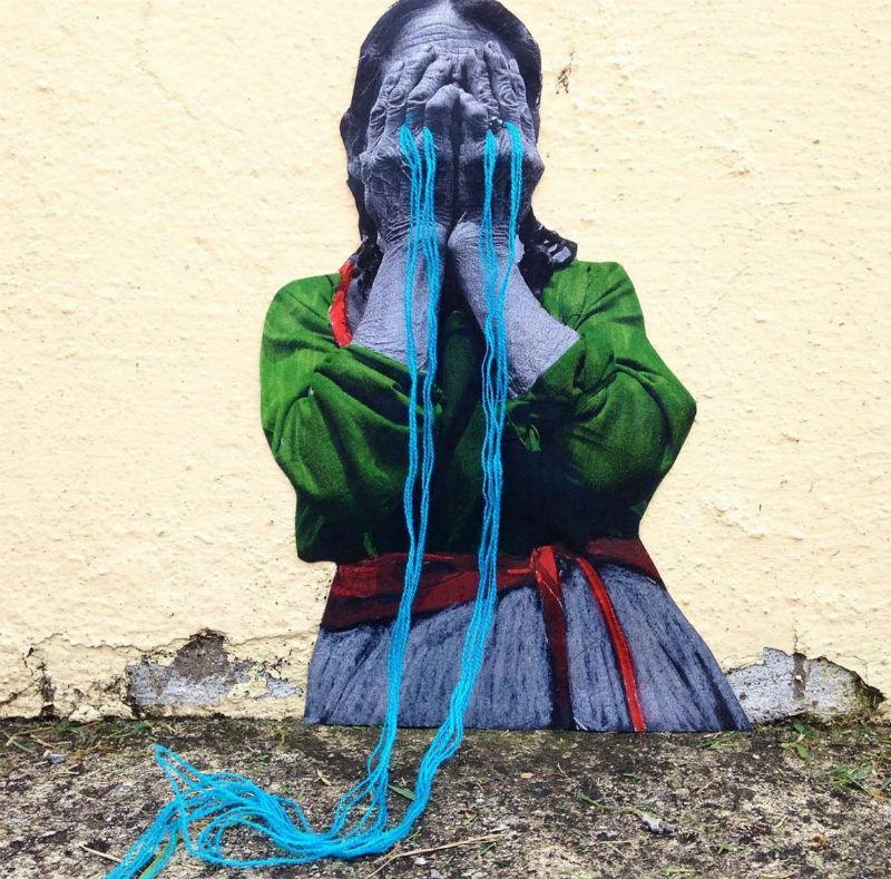 arte urbano bordados Victoria Villasana